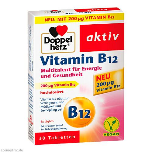 Doppelherz Vitamin B12, 30 ST, Queisser Pharma GmbH & Co. KG
