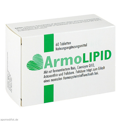 Armolipid, 60 ST, Meda Pharma GmbH & Co. KG