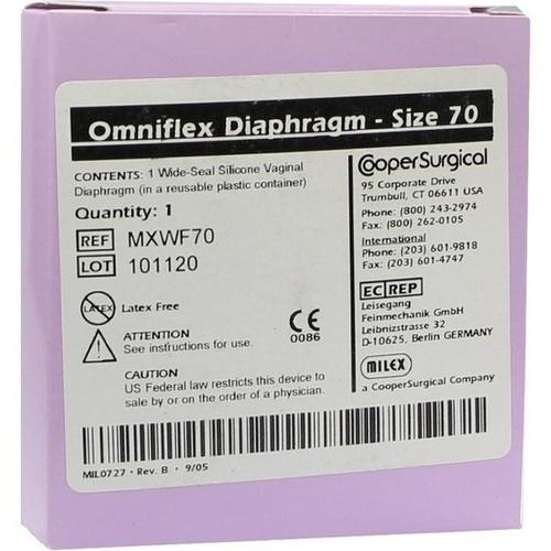 DIAPHRAGMA Silikon Wide Seal 70 mm, 1 ST, KESSEL medintim GmbH