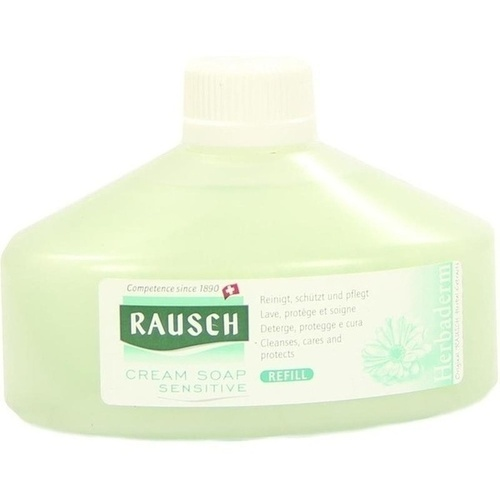 Rausch Cream Soap Sensitive Refill, 250 ML, Rausch (Deutschland) GmbH