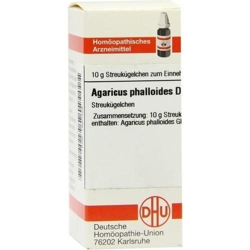 Agaricus phalloides D4, 10 G, Dhu-Arzneimittel GmbH & Co. KG