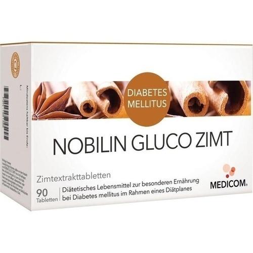 Nobilin GLUCO Zimt, 90 ST, Medicom Pharma GmbH