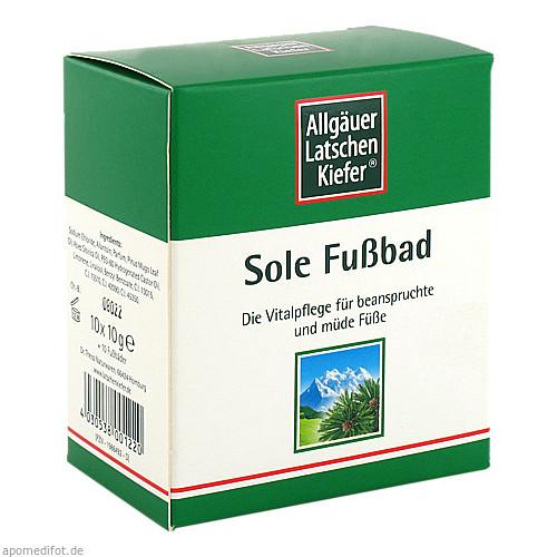 Allgäuer LK Sole Fußbad, 10X10 G, Dr. Theiss Naturwaren GmbH