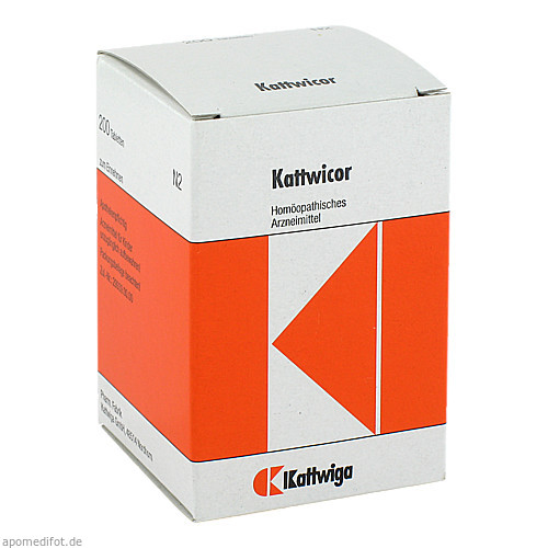 KATTWICOR Tabletten, 200 ST, Kattwiga Arzneimittel GmbH