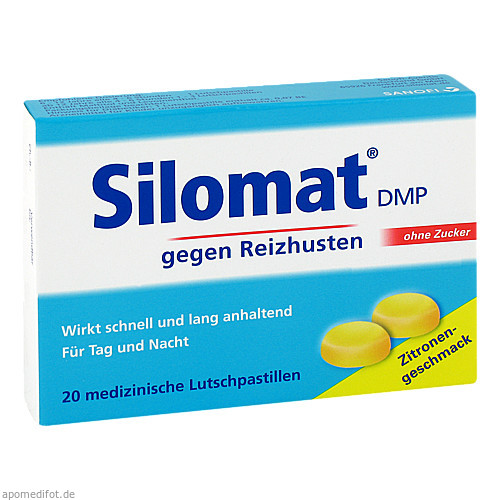 Silomat DMP, 20 ST, Sanofi-Aventis Deutschland GmbH