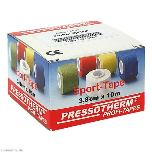 Pressotherm Sport-Tape grün 3.8cmx10m, 1 ST, Abc Apotheken-Bedarfs-Contor GmbH