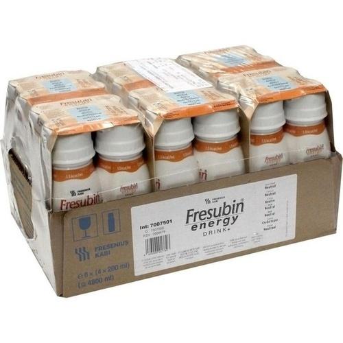 Fresubin energy drink Neutral Trinkflasche, 6X4X200 ML, Fresenius Kabi Deutschland GmbH