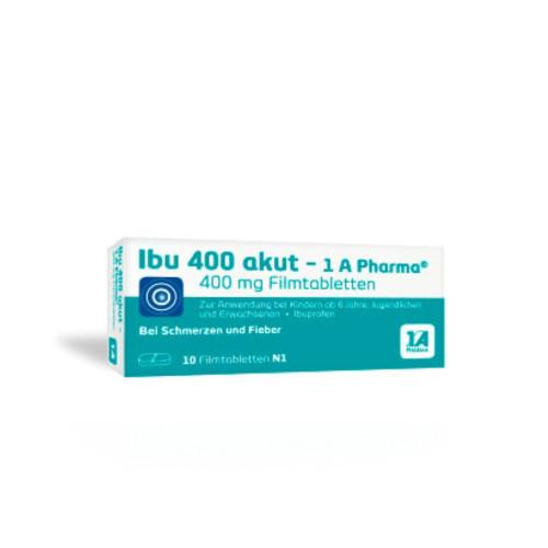 Ibu 400 akut - 1A-Pharma, 10 ST, 1 A Pharma GmbH
