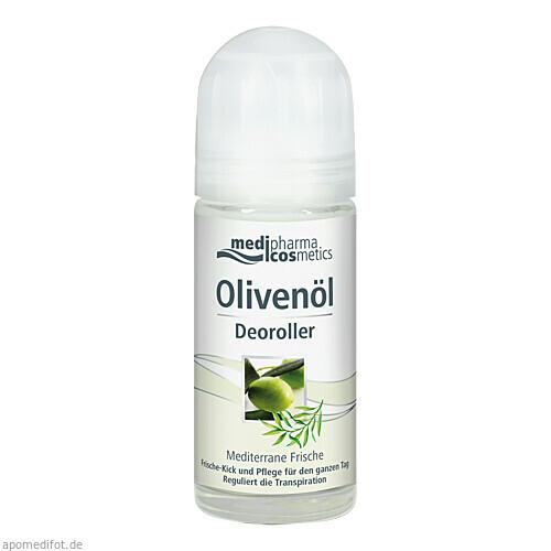 Olivenöl Deoroller Mediterane Frische, 50 ML, Dr. Theiss Naturwaren GmbH