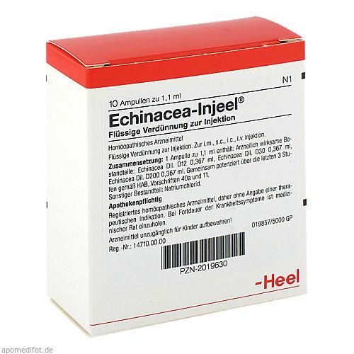 Echinacea Injeel, 10 ST, Biologische Heilmittel Heel GmbH