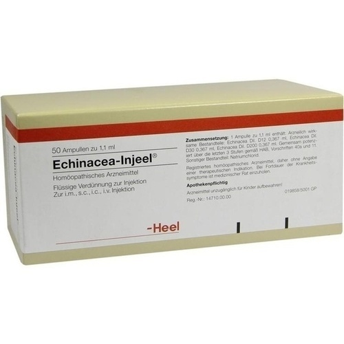 Echinacea Injeel, 50 ST, Biologische Heilmittel Heel GmbH