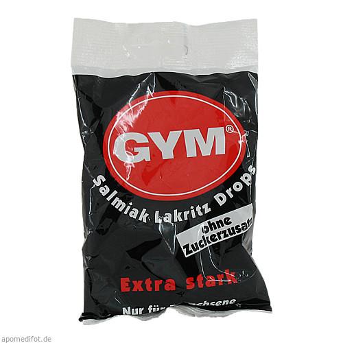 Gym Salmiak Lakritz Drops-Tüte o. Zuckerzusatz, 100 G, DR. KADE Pharmazeutische Fabrik GmbH