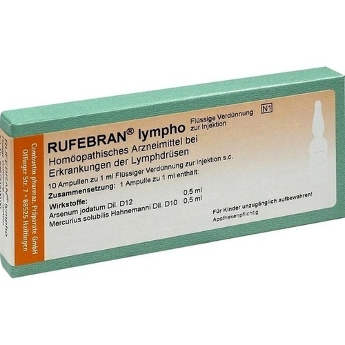 RUFEBRAN lympho, 10 ST, COMBUSTIN Pharmazeutische Präparate GmbH