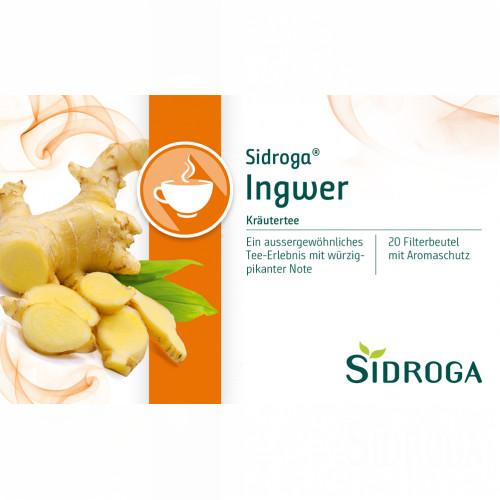 Sidroga Ingwer, 20 ST, Sidroga Gesellschaft Für Gesundheitsprodukte mbH