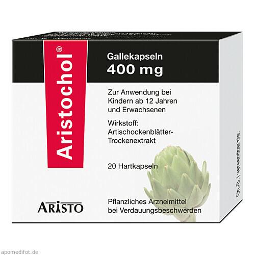 Aristochol Gallekapseln, 20 ST, Aristo Pharma GmbH