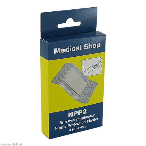 Brustwarzenpflaster NPP2, 10 ST, Holthaus Medical GmbH & Co. KG