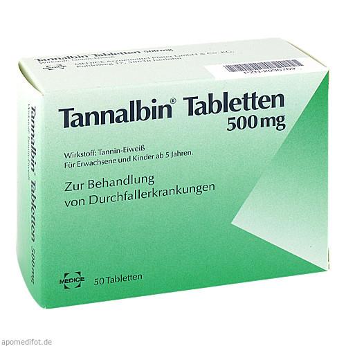 TANNALBIN, 50 ST, MEDICE Arzneimittel Pütter GmbH & Co. KG