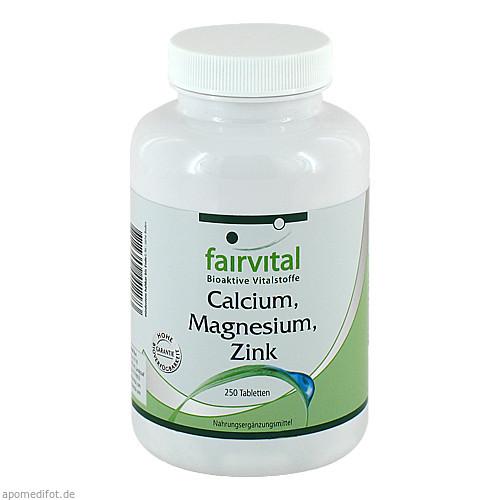 Calcium Magnesium Zink, 250 ST, Fairvital B. V.