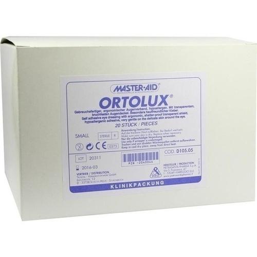 ORTOLUX Uhrglasverband small, 20 ST, Trusetal Verbandstoffwerk GmbH