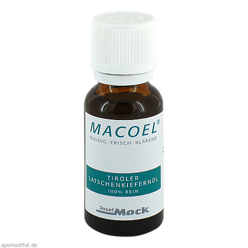 MACOEL Tiroler LATSCHENKIEFERNOEL, 20 ML, Josef Mack GmbH & Co. KG