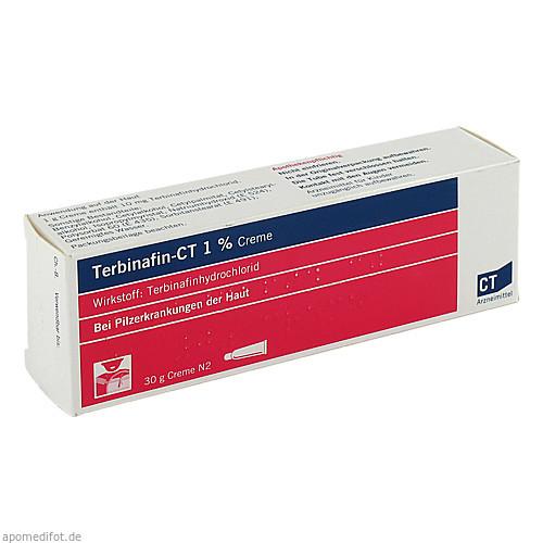 TERBINAFIN-CT 1% Creme, 30 G, AbZ Pharma GmbH