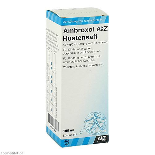 Ambroxol AbZ Hustensaft 15mg/5ml Lösung z Einnehm, 100 ML, Abz Pharma GmbH