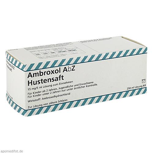 Ambroxol AbZ Hustensaft 15mg/5ml Lösung z Einnehm, 250 ML, Abz-Pharma GmbH