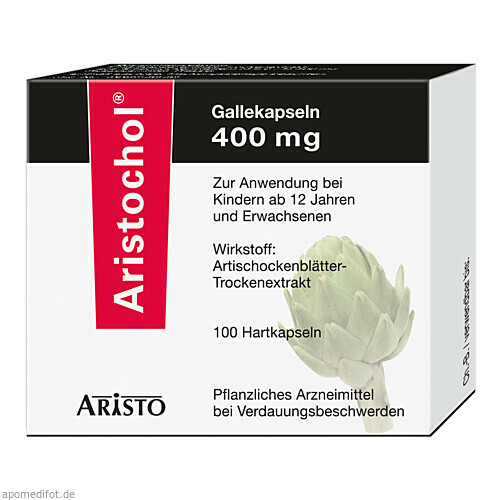 Aristochol Gallekapseln, 100 ST, Aristo Pharma GmbH