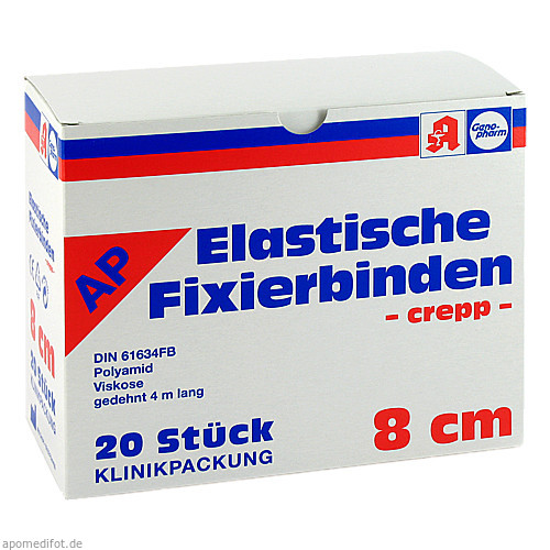 ELAST FIXIERBIN 8CM GENOPH, 20 ST, Richard A.L.Witt GmbH