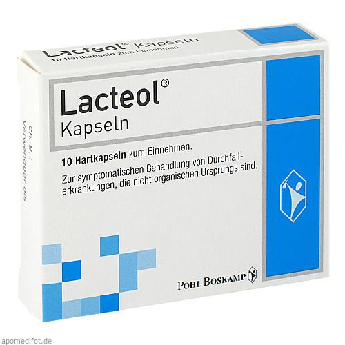 Lacteol Kapseln, 10 ST, G. Pohl-Boskamp GmbH & Co. KG