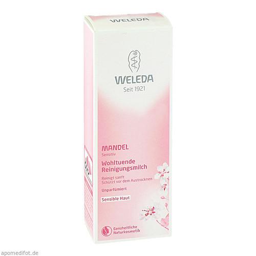 WELEDA Mandel Wohltuende Reinigungsmilch, 75 ML, Weleda AG