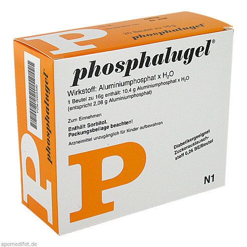 PHOSPHALUGEL Beutel Suspension zum Einnehmen, 20 ST, Astellas Pharma GmbH