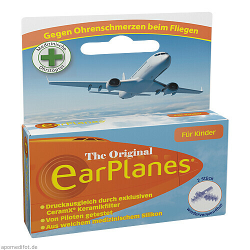 EarPlanes Child/Kind, 2 ST, Cirrus Healthcare Products