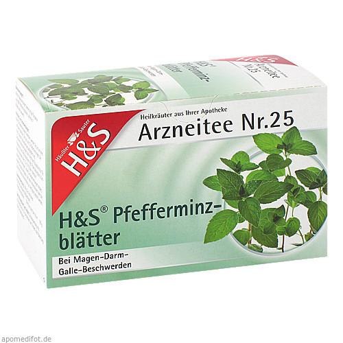 H&S PFEFFERMINZTEE, 20 ST, H&S Tee - Gesellschaft mbH & Co.
