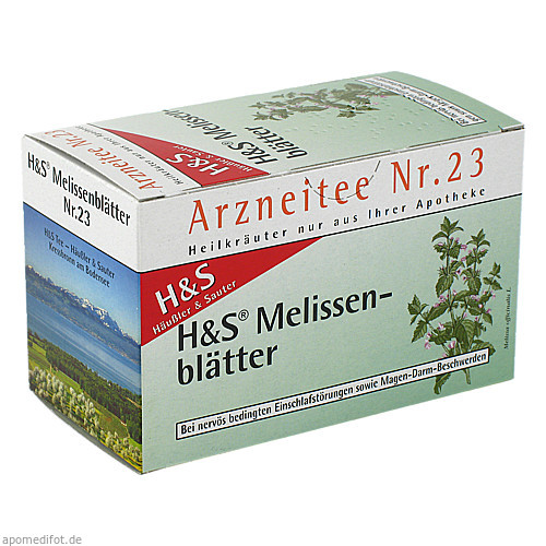H&S MELISSENTEE, 20X1.5 G, H&S Tee - Gesellschaft mbH & Co.