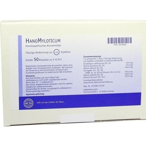 HanoMyloticum, 50X5 ML, Hanosan GmbH