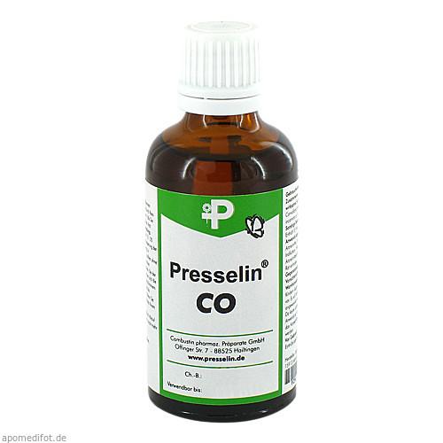 Presselin CO Coronar TR, 50 ML, COMBUSTIN Pharmazeutische Präparate GmbH