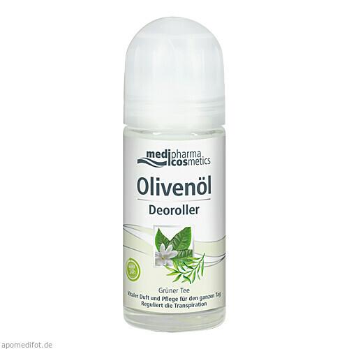 Olivenöl Deoroller Grüner Tee, 50 ML, Dr. Theiss Naturwaren GmbH