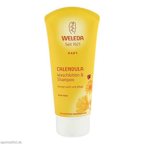 WELEDA Calendula-Waschlotion & Shampoo, 200 ML, Weleda AG