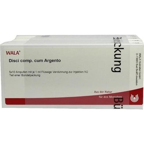 DISCI COMP C ARGENTO, 50X1 ML, Wala Heilmittel GmbH