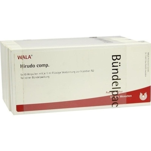HIRUDO COMP, 50X1 ML, Wala Heilmittel GmbH