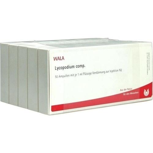 LYCOPODIUM COMP, 50X1 ML, Wala Heilmittel GmbH