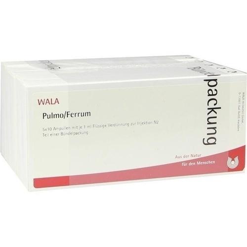 PULMO/FERRUM, 50X1 ML, Wala Heilmittel GmbH