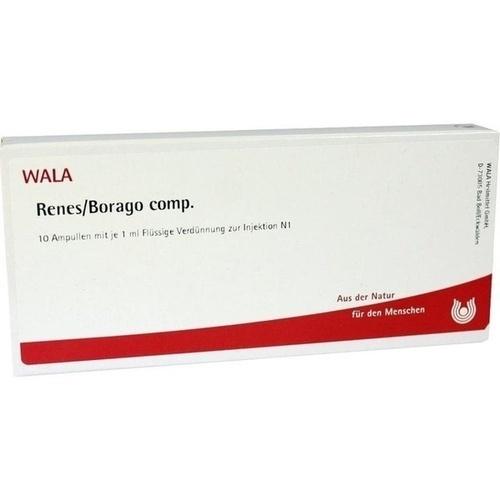 RENES/BORAGO COMP, 10X1 ML, Wala Heilmittel GmbH