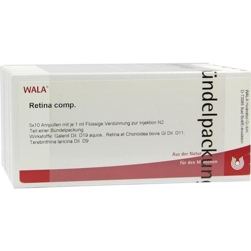 RETINA COMP, 50X1 ML, Wala Heilmittel GmbH