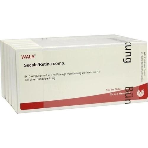 SECALE/RETINA COMP, 50X1 ML, Wala Heilmittel GmbH