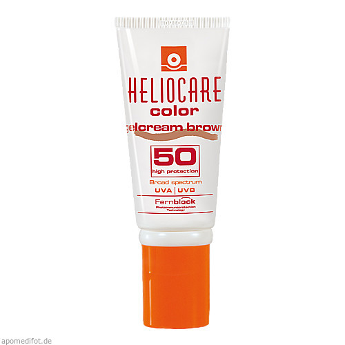 Heliocare Color Gelcream brown SPF 50, 50 ML, Ifc Dermatologie Deutschland GmbH