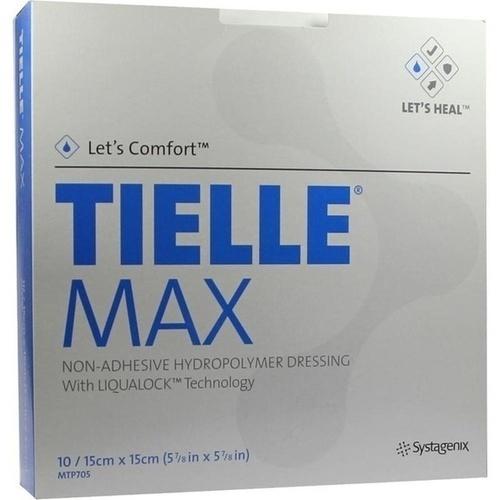 TIELLE MAX 15x15cm, 10 ST, Kci Medizinprodukte GmbH
