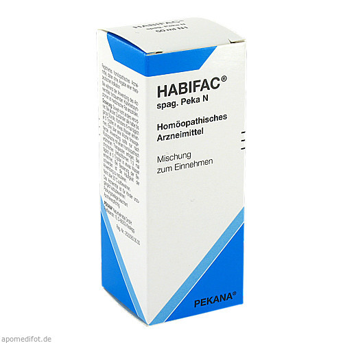 HABIFAC spag. Peka N, 50 ML, Pekana Naturheilmittel GmbH
