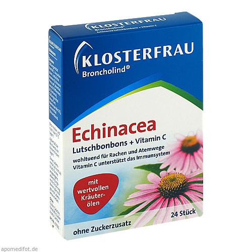 Broncholind Echinacea Lutschbonbons, 24 ST, MCM Klosterfrau Vertriebsgesellschaft mbH